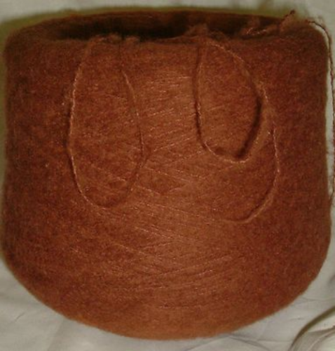 Clearance Knitting Machine Yarn 1500g Mohair Acrylic Mix 2ply  Spice